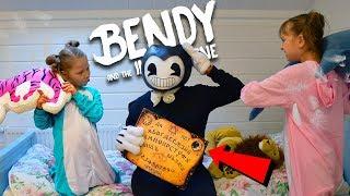 Download БЕНДИ ИСПОРТИЛ ПИЖАМНУЮ ВЕЧЕРИНКУ! ПАПА СТАЛ как БЕНДИ?! Bendy and the Ink Machine funny video Video