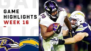 Download Ravens vs. Chargers Week 16 Highlights | NFL 2018 Video