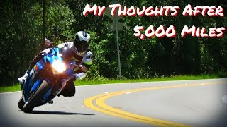 Download GSXR750 5,000 Mile Review Video