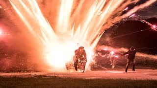 Download 1000 ROCKETS Launched off a BIKE Video
