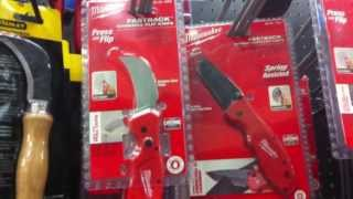 Download Milwaulkee Knives At Home Depot? Video