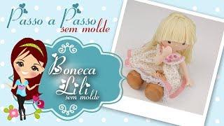Download Boneca Lili de Biscuit - Passo a Passo SEM MOLDE - Bia Cravol Video