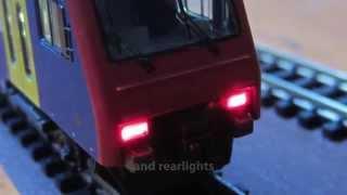 Download Fleischmann SBB DoSto Zürich S Bahn Spur N - Beleuchtung Spur N Video