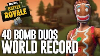 Download 40 Bomb Duos!!! - PC WORLD RECORD - Fortnite Battle Royale Gameplay - Ninja Video