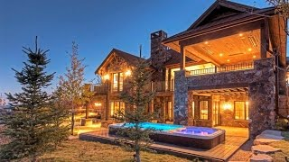 Download Promontory Trophy Home in Park City, Utah Video