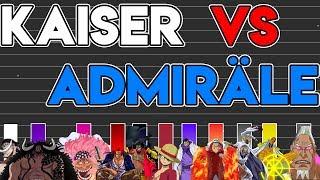 Download Power Level: (Yonko) Kaiser Vs. Admiräle - One Piece | TheoryTv - Meliodas Video