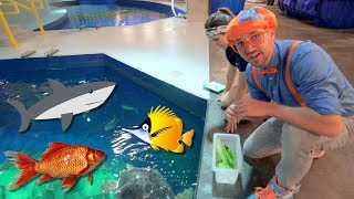 Download Blippi Visits The Aquarium | Educational Fish and Animals for Kids and Toddlers Video