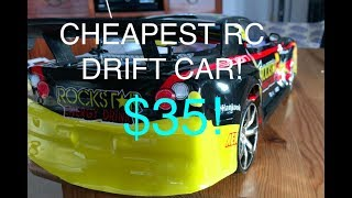 Download RC Drift Car CHEAPEST 1:10 SCALE $35 REVIEW Video
