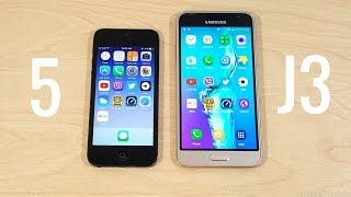 Download iPhone 5 vs Samsung Galaxy J3 Video