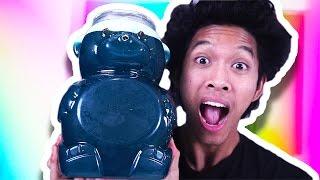 Download DIY GIANT JELLO GUMMY BEAR!!! Video
