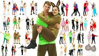 Download 30 Last-Minute COUPLE Halloween Costume Ideas! DIY Costumes! Video