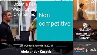 Download Why Choose Joomla in 2018? - Aleksander Kuzcek Video