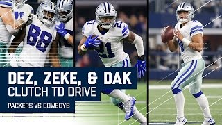 Download Elliott's Great Spin Leads to Dak TD to Dez & 2-Point Conversion! | NFL Divisional Highlights Video