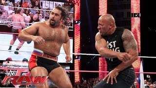 Download The Rock confronts Rusev: Raw, Oct. 6, 2014 Video