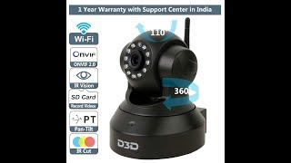 Download How to Install D3D Wi- Fi IP Camera Model D8801 Video