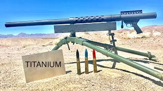 Download 20MM VS TITANIUM - WILL TITANIUM STOP A CANNON? Video
