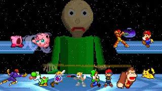 Download Baldi Basics VS Super Smash Bros (Animation) Video