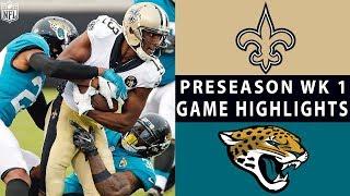 Download Saints vs. Jaguars Highlights | NFL 2018 Preseason Week 1 Video