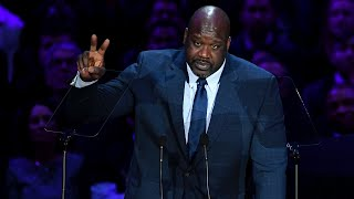 Download Shaquille O'Neal Speaks at A Celebration of Life for Kobe and Gianna Bryant Video