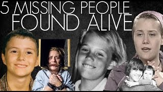 Download Top 5 Missing People Found Alive Video