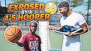 Download GOT EXPOSED BY A 4'5 HOOPER!!! 😳😱 1 V 1 AGAINST MANI LOVE!! LOSER GETS EXTREME PUNISHMENT!!! Video