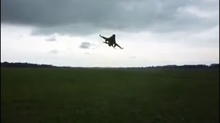 Download ⚠️ Extreme Low Flyby, Two F-16 Fighting Falcons From The Dutch Airforce Video