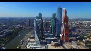 Download Москва Сити - полет ( вид сверху) Video