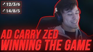 Download LL Stylish - AD CARRY ZED WINNING THE GAME Video