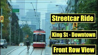 Download Toronto's New Streetcars - A Drivers Perspective (On The King Street Transit Pilot) Video