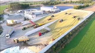 Download Big Corn Silage Smrzice Czech Republic DJI Phantom 4 Video