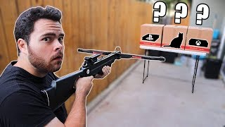 Download WHICH WOULD YOU SHOOT??? PARKER'S TURN!! REVENGE!!! 😈 (DON'T SHOOT THE WRONG BOX CHALLENGE 2) Video