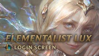 Download Elementalist Lux | Login Screen - League of Legends Video