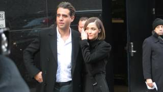 Download Bobby Cannavale and Rose Byrne leaving Good Morning America after Annie interview Video