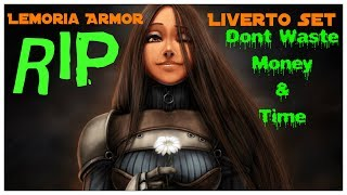 Download Black Desert Online - Lemoria Armor aka The Liverto Set Video