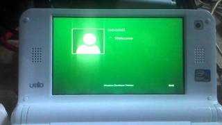 Download boot windows 8 sur un Umid M1 Video
