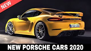 Download 10 All-New Porsche Cars Merging Iconic Looks with Extreme Performance in 2020 Video
