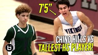 Download Chino Hills vs TALLEST PLAYER IN HIGH SCHOOL!! Chino Hills vs Pleasant Grove Full Highlights! Video