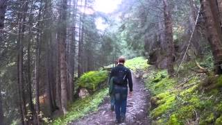 Download Hiking in and around Gimmelwald and Murren, Switzerland Video