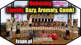Download Unboxing - Liquidy, Bazy, Aromaty, Gumki - PINK-FURY - ivape.pl - Noster Video