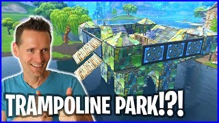Download FUN TRAMPOLINE PARK IN LOOT LAKE! Video