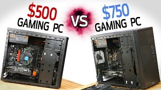 Download $500 Gaming PC vs $750 Gaming PC! Video