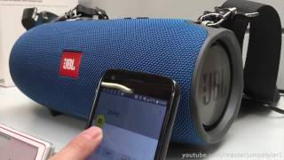 Download JBL XTREME BLUE // Frequency - Test [BASS-SECTOR] Video