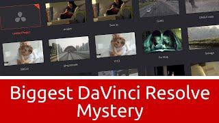 Download Biggest DaVinci Resolve Mystery - Databases Demystified Video