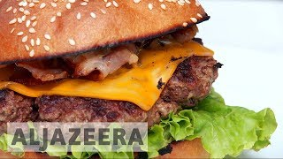 Download France: One of Europe's biggest burger consumers Video