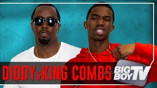 Download Diddy & King Combs on The Four, Rap Beef, NFL & A Lot More Video