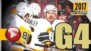 Download Pittsburgh Penguins vs Ottawa Senators. NHL 2017 Playoffs. Eastern Conference Final. Game 4. (HD) Video