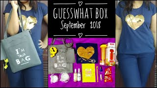 Download Guesswhat Box September 2018 |Best Edition so far? Giveaway open Video