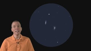 Download EOTS: How to find observe galaxies M65 & M66 in Leo (4/21-4/27) Video