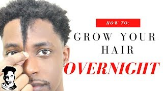 Download How To Grow Your Hair OVERNIGHT | WINSTONEE Video