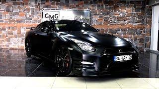 Download Nissan GTR Mat Satin Siyah VS. BMW i8 Mat Satin Flex Deep Red Chrome - GMG GARAGE Video